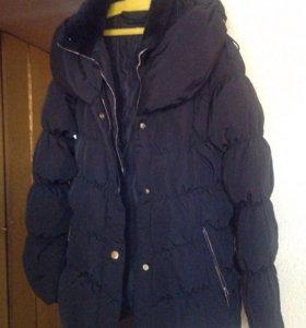 Новая куртка-пуховик Bershka