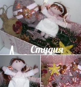 Новогодние игрушки, Набор