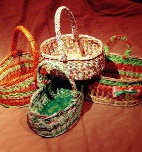 Подарочные корзинки.