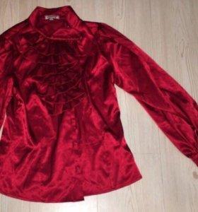 Корейская шёлковая рубашка