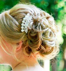Гребень для свадебной причёски