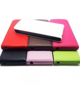Флип-чехол iPhone 5/5s/SE (экокожа/поликарбонат)