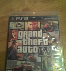 Продам GTA4 на PS3