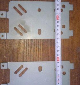 Крепление магнитолы с рамкой