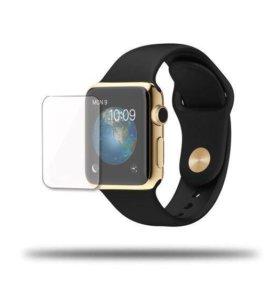 Защитная глянцевая плёнка для Apple Watch 38mm