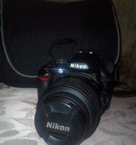 Цифровая фотокамера Nikon D3100