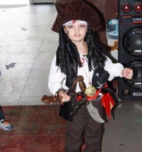 Новогодний костюм пирата(Капитана Джека Воробья)