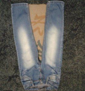 Стрейчевые джинсы 4-5 лет