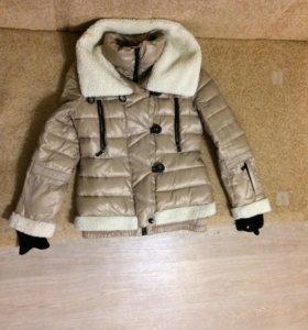 Женская курточка теплая