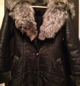 Куртка дубленка зимняя