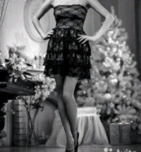 Платье, туфли