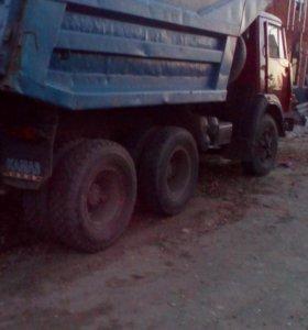 Перевозка грузов Камаз самосвал