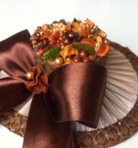 Декоративная 'Женская шляпка '