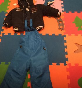 Куртка и полукомбинезон р92 весна -осень