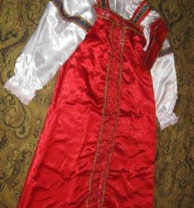 Платье и костюм.