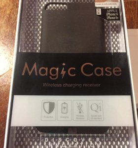 Чехол Nillkin Magic Case черный, для iPhone 6/6S