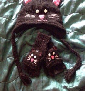 Комплект:шапка+шарф