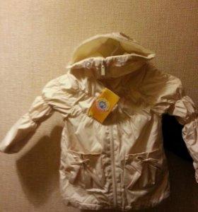 Весенняя курточка для девочки на 1,5-2 и 2,5-3года