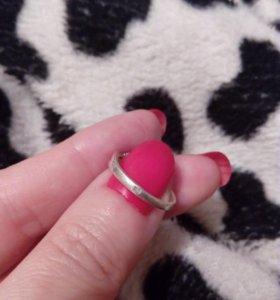Кольцо серебряное 17