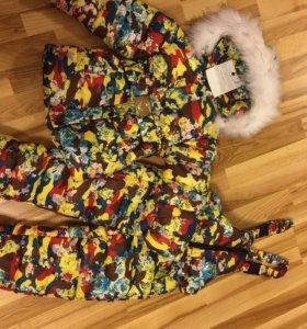 Новый зимний костюм для девочки