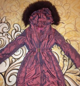 Зимняя куртка-пальто рост 134