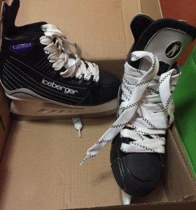 Коньки хоккейные новые, ни разу не одевали 36р.