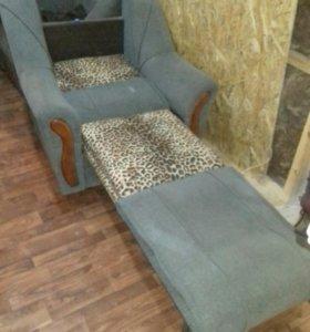 Кресло раскладное 2 шт