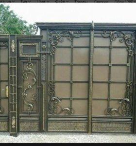 Ворота,двери и т.д.