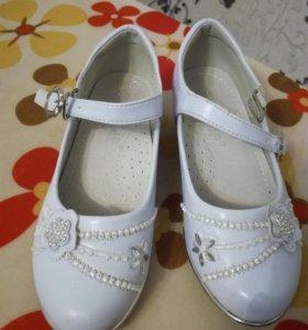 Туфли для девочки 27 р-р