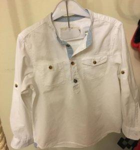 Рубашка для мальчика 116р.