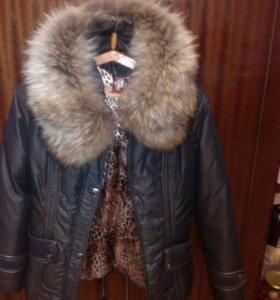 Зимняя куртка 42 - 44