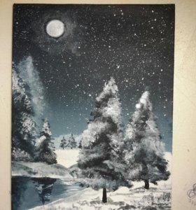 Картина Акрилом