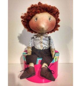 Текстильные куклы мальчики