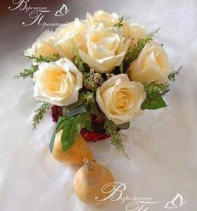 Букет из искусственных цветов