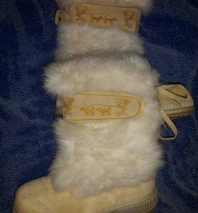 Зимняя обувь 35 размер.