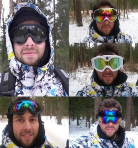 Горнолыжная/сноубордическая маска/очки