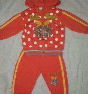 Спортивный костюм на 1-2 года