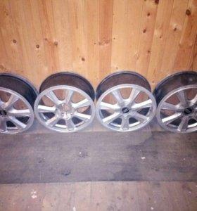 Audi оригинальные литые диски