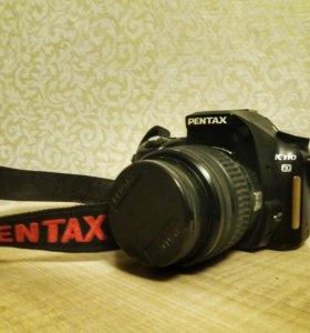 Зеркальный фотоаппарат Pentax K110D