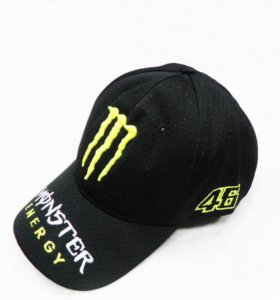 Кепка Monster Energy чёрная