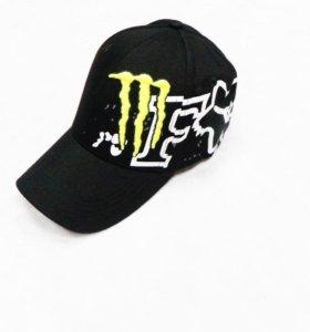 Кепка Monster Fox чёрная