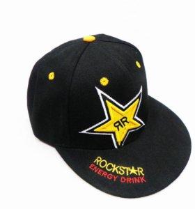 Кепка Rockstar чёрная