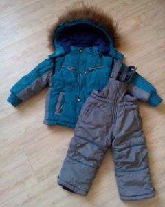 Комбинезон зимний для мальчика.