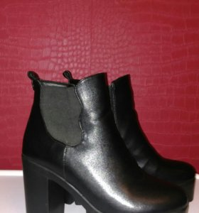 Сапоги ботинки ботильоны зима 39