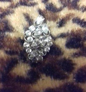 Кольцо 925 серебро