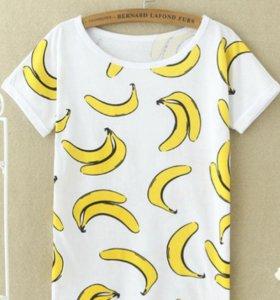 Футболка с бананами