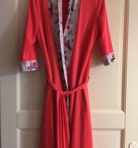 Новый халат для беременных 44-48