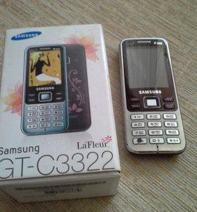 Телефон двухсимочный Samsung GT-C3322