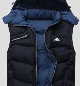 """Мужская куртка-жилетка """"Adidas"""""""