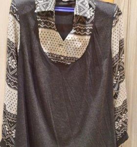 Блузка 58 размер.